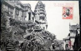 CAMBODGE  ANGKOR VAT  TOUR SUD EST  AVEC TIMBRE - Cambodia