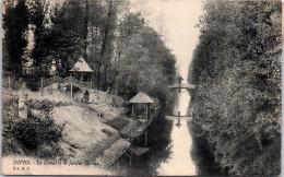 14 Dives - Le Canal Et Le Jardin Deleau - Dives