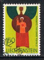 Liechtenstein SG487 1968 Definitive 1f.50 Good/fine Used - Liechtenstein