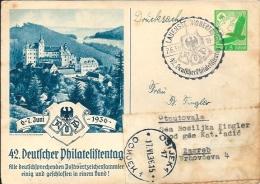 Postcard RA002101 - Deutscher Philatelistentag 1936-06-06 - Esposizioni