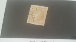 LOT 241923 TIMBRE DE FRANCE OBLITERE N�43A VALEUR 80 EUROS