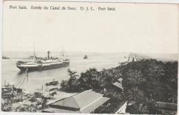 Port Said - Entrée Du Canal De Suez - Port Said