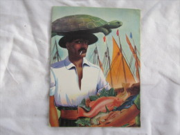 Menu Du S.S. BRAZIL DU 9 AVRIL 1954 CIE MOORE MC CORMACK LINES - Boats