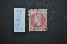 Numéro 32 Oblitéré, TTB - 1863-1870 Napoléon III. Laure