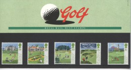 Great Britain, PP,Presentationspack 249, Sport Golf 1994 - Presentation Packs