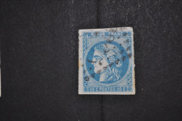 Numéro 46B Oblitéré, TTB - 1870 Ausgabe Bordeaux