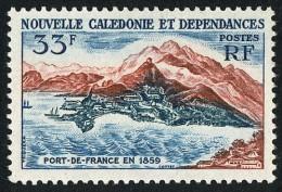 NOUV.-CALEDONIE 1960 - Yv. 301 ** TB  Cote= 5,50 EUR - Port-de-France En 1859 ..Réf.NCE22835 - Neukaledonien