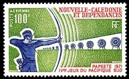 NOUV.-CALEDONIE 1971 - Yv. PA 123 ** TB  Cote= 11,00 EUR - Sport : Tir à L'arc ..Réf.NCE23183 - Poste Aérienne