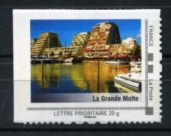 "La Grande Motte .  Adhésif Neuf ** . Collector "" LANGUEDOC - ROUSSILLON ""  2009 - Francia"