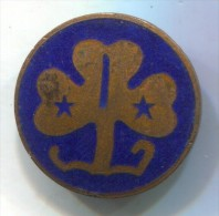SCOUT, Scoutisme, Eclaireur - Holland Netherlands, Enamel, Vintage Pin, Badge - Padvinderij
