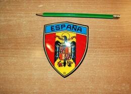 Vintage 70's Blason Ecusson Espana Sticker Decal - Non Classificati