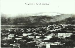 - BEYROUTH   - Vue g�n�rale de Beyrouth et du Liban  -