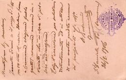 1906  CARTOLINA CON ANNULLO  OTTAGONALE  S. DANIELE RIPA PO CREMONA
