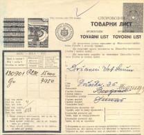 Serbia-Banat. II WW. German Ocupation 1943. The Sarca (Secanj) Waybill To Belgrad-Topcider. - Serbia
