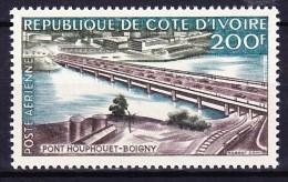 COTE D'IVOIRE POSTE AERIENNE 1959 YT N° PA 19 ** - Côte D'Ivoire (1960-...)