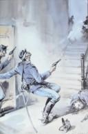 POLIZIA DI STATO MAGGIORE ILARDI MEDAGLIA ARGENTO PALERMO 1871 - Militaria