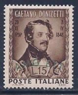 Italy, Trieste Zone A, Scott # 34 Mint Hinged Italy Stamp Overprinted, 1948 - 7. Triest