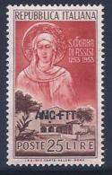 Italy, Trieste Zone A, Scott # 169 Mint Hinged Italy Stamp Overprinted, 1953 - 7. Triest