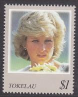 TOKELAU, 1998 DIANA 1 MNH