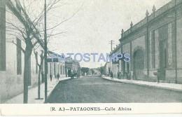 1255 ARGENTINA PATAGONES BS AS STREET CALLE ALSINA POSTAL POSTCARD - Argentinien
