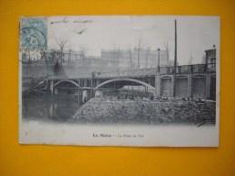 Cpa  LE MANS  -  72  -  Le Pont De Fer  -  Sarthe - Le Mans