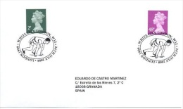 GREAT BRITAIN 2008. SPECIAL POSTMARK.  SUMMER OLYMPIC GAMES. LONDON 1908