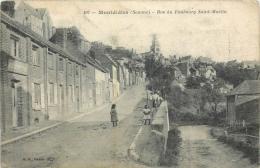 MONTDIDIER RUE DU FAUBOURG SAINT MARTIN - Montdidier