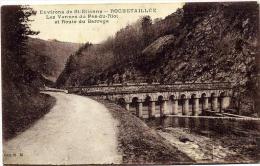 42 ROCHETAILLEE ++ Les Vannes Du Pas-du-Riot Et Route Du Barrage ++ - Rochetaillee