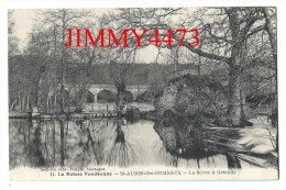 CPA N° 11 - La Sèvre à Grenon - SAINT AUBIN DES ORMEAUX 85 Vendée - Scans Recto-Verso - Imp. Jehly - Poupin - France