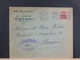 B/4610    LETTRE      CENSURE BRUSSEL - WW I