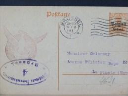 B/4621     CP      CENSURE BRUSSEL NR. 4 - Guerra '14-'18