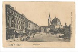 11416 - Üdvözlet Pécsrol Gymnazium - Hongrie
