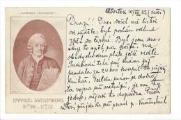 "11419 -  Emanuel Swedenborg  Scientist Philosopher ""Dominus Providebit"" - Suède"