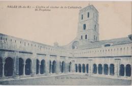CARTE POSTALE ANCIENNE,ARLES EN 1900,BOUCHES DU RHONE,NATIVITE,SAINT TROPHIME,12 EME SIECLE,clochet,cloitre,13 - Arles