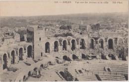 CARTE POSTALE ANCIENNE,ARLES EN 1900,BOUCHES DU RHONE,ARENES,ECHELLE,TRAV AUX EN COUR - Arles