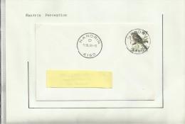 Oblitérations Postal  Nandrin  Villers-le-Temple  Saint-Severin - Zonder Classificatie