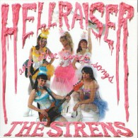 The SIRENS - Hellraiser And Other Sweet Songs - EP - WIPED OUT RECORDS - The SWEET - GLAM - Rock