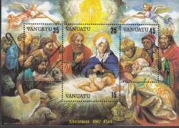 VANUATU, 1982 XMAS MINISHEET MNH - Vanuatu (1980-...)