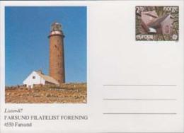 Lighthouses. Norge. Europa. Post Card. 20004 - Leuchttürme