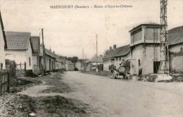 MAIZICOURT - Route D'Auxi-leChâteau - 1934 - - France