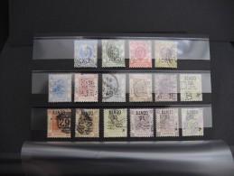 HONG KONG - Lot De 16 Valeurs Classiques Perforées - Cote 250 € Environ- TTB -  Lot N° 2120 - Hong Kong (...-1997)