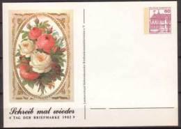 BRD , Ganzsache , Privat Postkarte , Schreib Mal Wieder , Tag Der Briefmarke 1982 - [7] Repubblica Federale