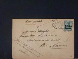 B/4688    CP   CENSURE DE  ARLON - WW I