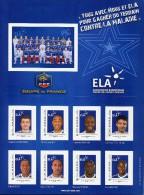 FRANCE Y&T ** Collecror France Football - ELA - Henry Toulalan Cissé Sagna - Ungebraucht
