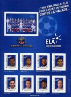 FRANCE Y&T ** Collecror France Football - ELA - Ribery Malouda Evra - Ungebraucht