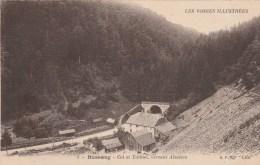 BUSSANG (Vosges) - Le Col Et Tunnel, Versant Alsacien - Bussang