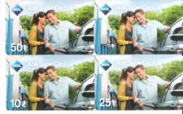 Germany - Allemagne - 4 Cards - Aral Petrol Station - Carte Cadeau - Carta Regalo - Gift Card - Geschenkkarte - Frankreich