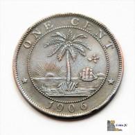 Liberia - One Cent - 1906 - Liberia