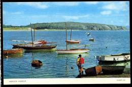 Cpsm Du Pays De Galle Abersoch Harbour   JA15 10 - Caernarvonshire