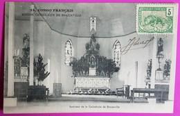 Cpa N° 24 Congo Intérieur De La Cathédrale De Brazzaville Carte Postale 1905 Mission Catholique Brazzaville - Congo Francés - Otros